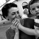 dziecko zycie codzienne ulica płock zjęcia
