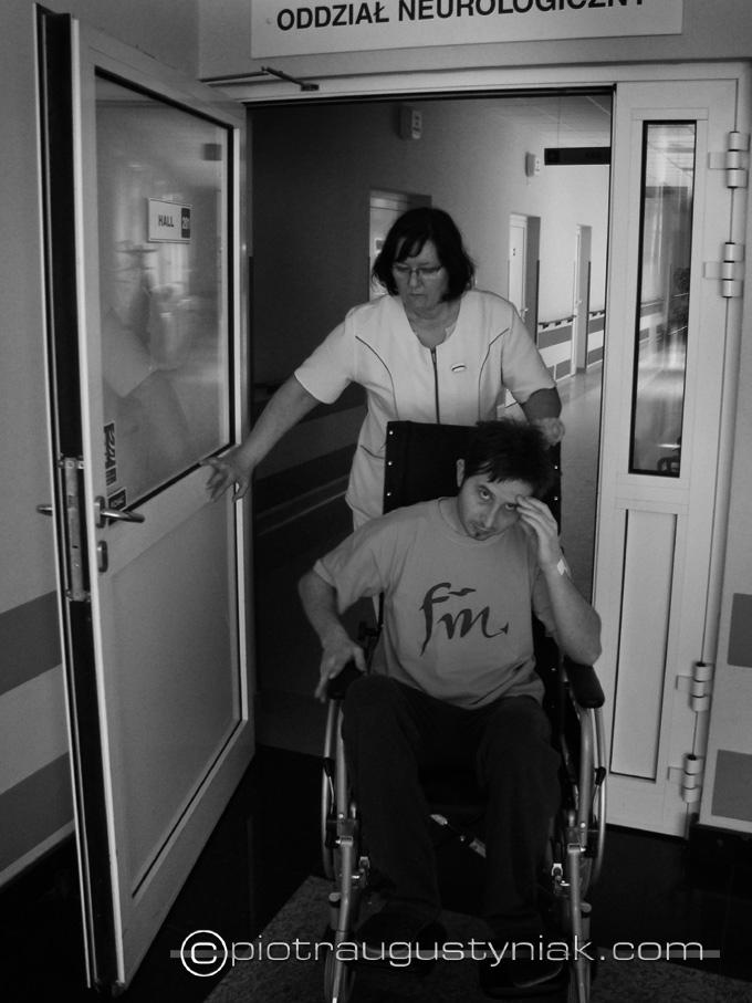 neurologia oddział neurologiczny Zdjęcia fotograf fotografia reportażowa