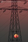 słup enegetyczny zdjęcia