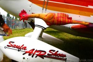 Piknik lotniczy Marek Szufa