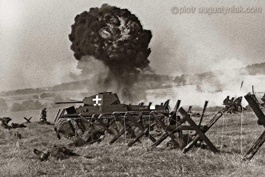 bitwa pod mławą fotograf płock Augustyniak zdjęcia reportaż
