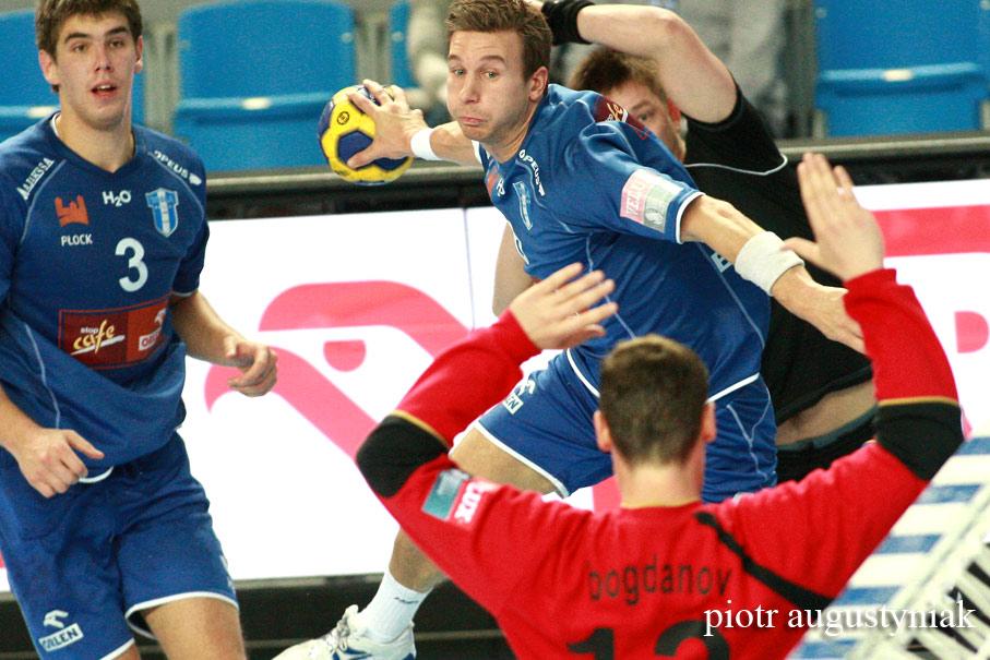 fotograf płock  zdjęcia piotr augustyniak pilka reczna handball liga mistrzow wisla petersburg
