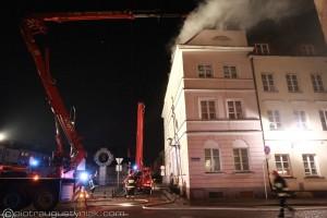 Pożar Stare Miasto Płock | Plac Trzynastu Straconych – Jerozolimska