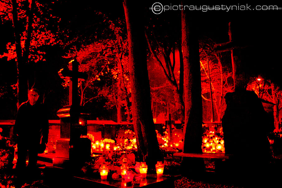 polski cmentarz wszystkich świętych zdjęcia groby