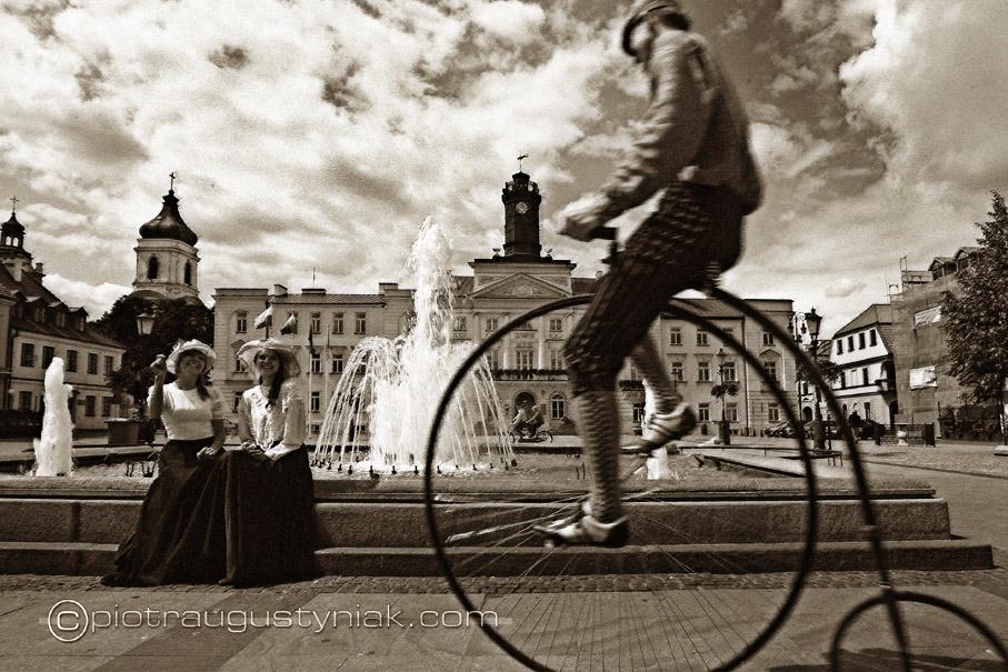 fotograf zdjęcia bicykl Piotr Augustyniak Dni historii płocka warszawa