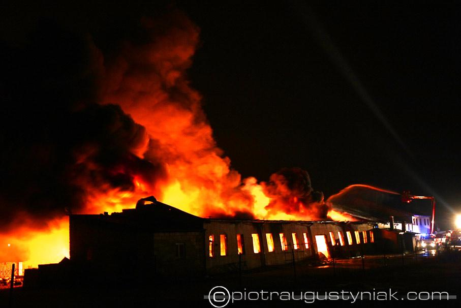 fotograf płock pożar