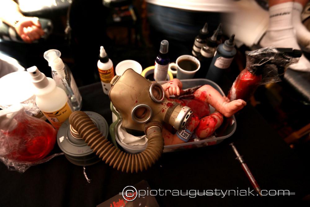 Tattoo festiwal Łódź. Zdjęcia  festiwal tatuażu w łodzi. Fotograf . Reportaż. Fotoreportaż , klub dekompresja.