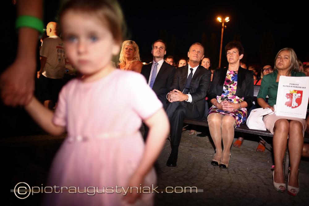 miss polski na wózkach. Ciecocinek 2013 Tusk Donald Premier