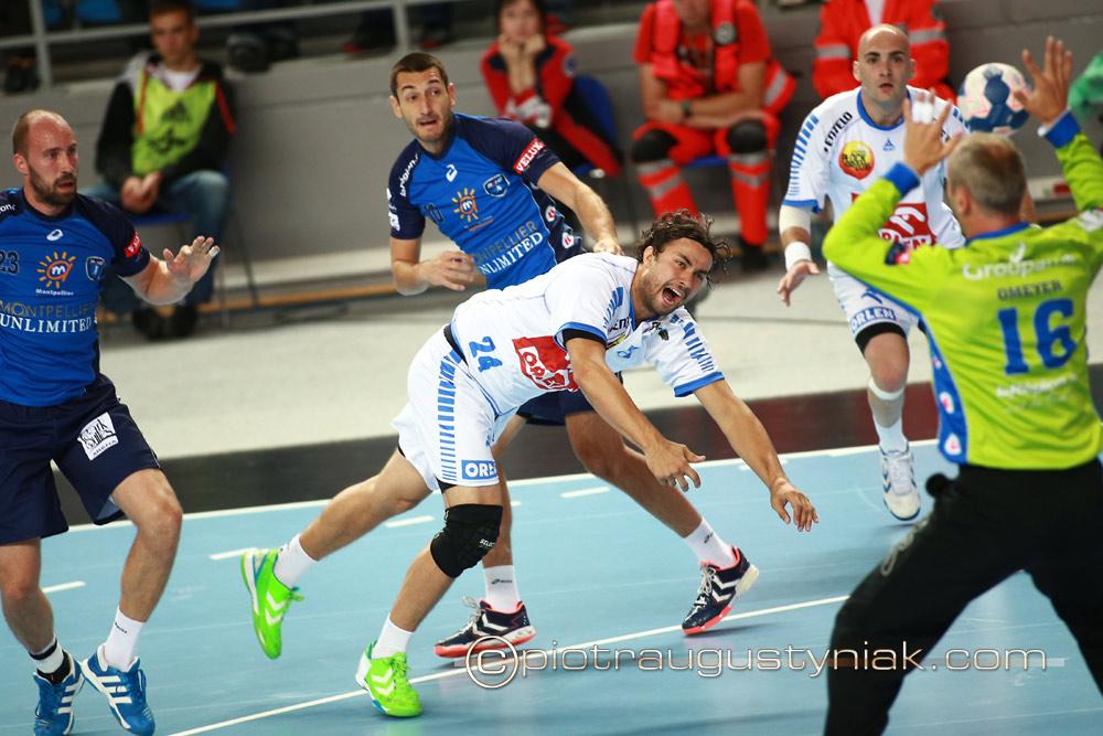 Wisła płock Montpellier Agglomeration Hb. Piłka ręczna. Fotograf płock. Zdjęcia sportowe. Fotoreporter.
