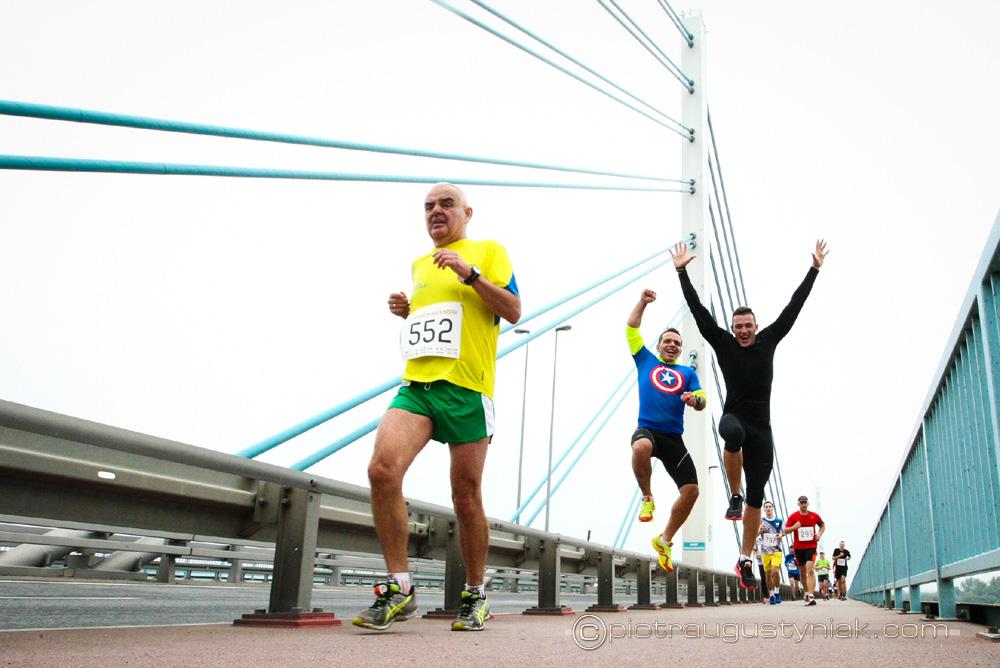 pólmaraton dwóch mostów