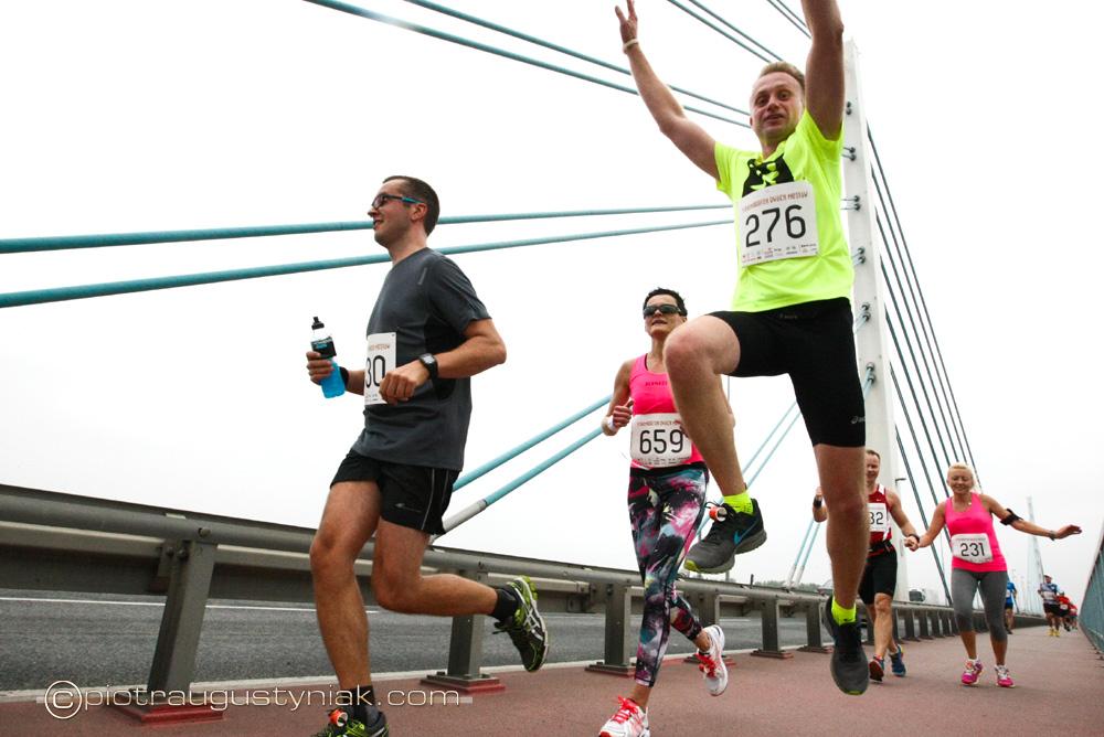 pólmaraton dwóch mostów w płocku
