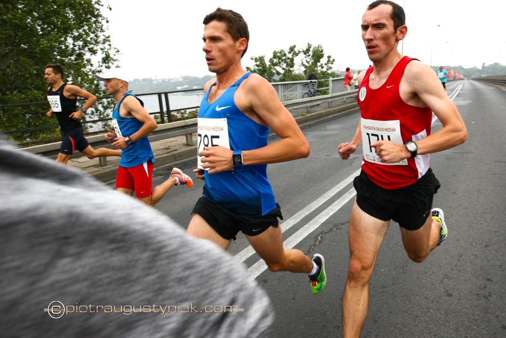 pólmaraton dwóch mostów płock